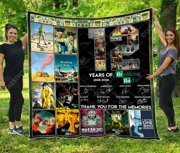 12 Years Of Breaking Bad 2008-2020  – Quilt