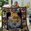 86th Pittsburgh Steelers Quilt 3t029