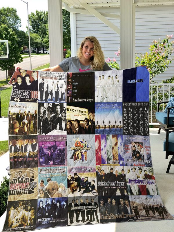 Backstreets Boys Quilt Blanket