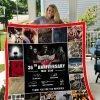 Bon Jovi 36 Years Anniversary Quilt Blanket I1d2