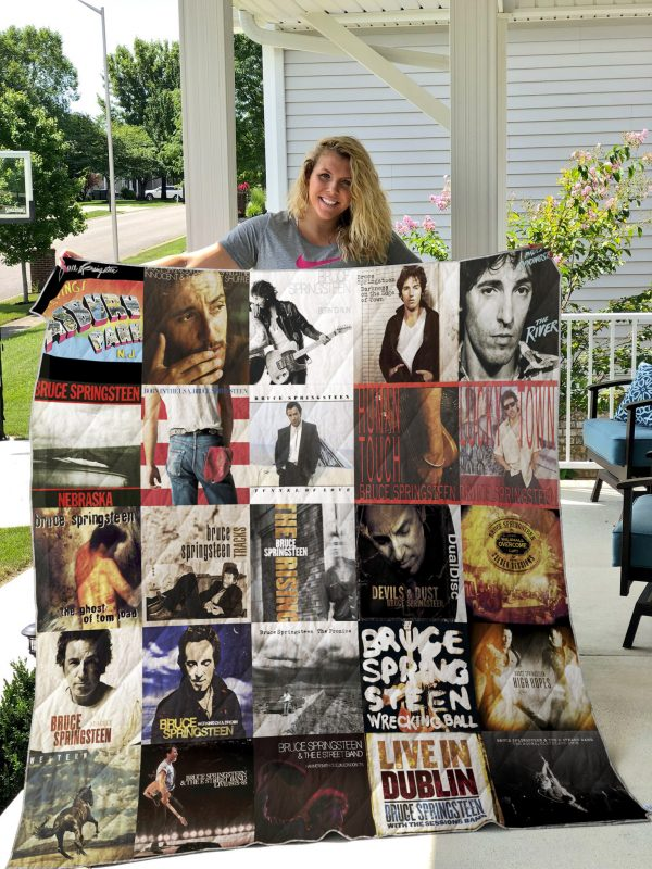Bruce Springsteen Style 2 Quilt Blanket