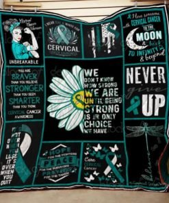 Cervical Cancer Awareness Quilt Th605