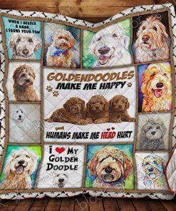 Goldendoodle Quilt P135