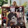 Marilyn Manson Style 2 Quilt Blanket