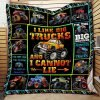 Monster Truck Quilt Nh107