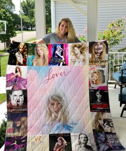 Taylor Swift Style 3 Quilt Blanket