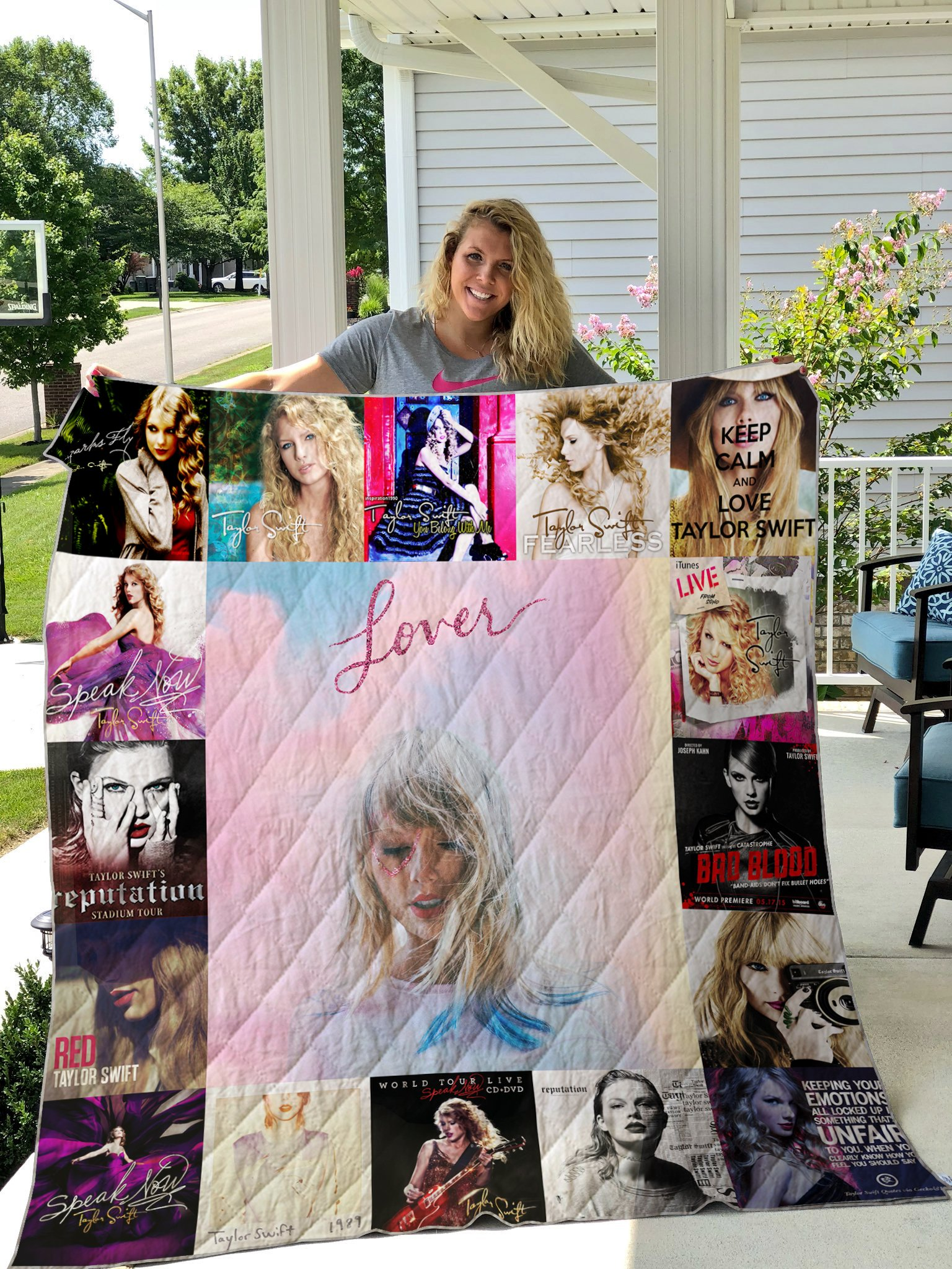 Taylor Swift Style 3 Quilt Blanket Pick A Quilt
