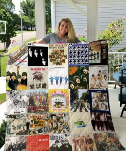 The Beatles Style 2 Quilt Blanket
