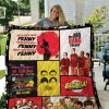 The Big Bang Theory Quilt Blanket 01259