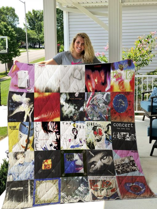 The Cure Style 2 Quilt Blanket
