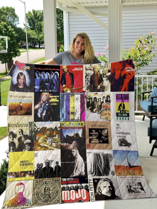 Tom Petty And The Heartbreakers Quilt Blanket